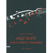 Jazz Suite for Clarinet Ensemble (AD8404)