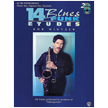 14 Blues & Funk Etudes B♭ Instruments-Tenor/Soprano Sax,Clarinet (alf00-EL9605CD)
